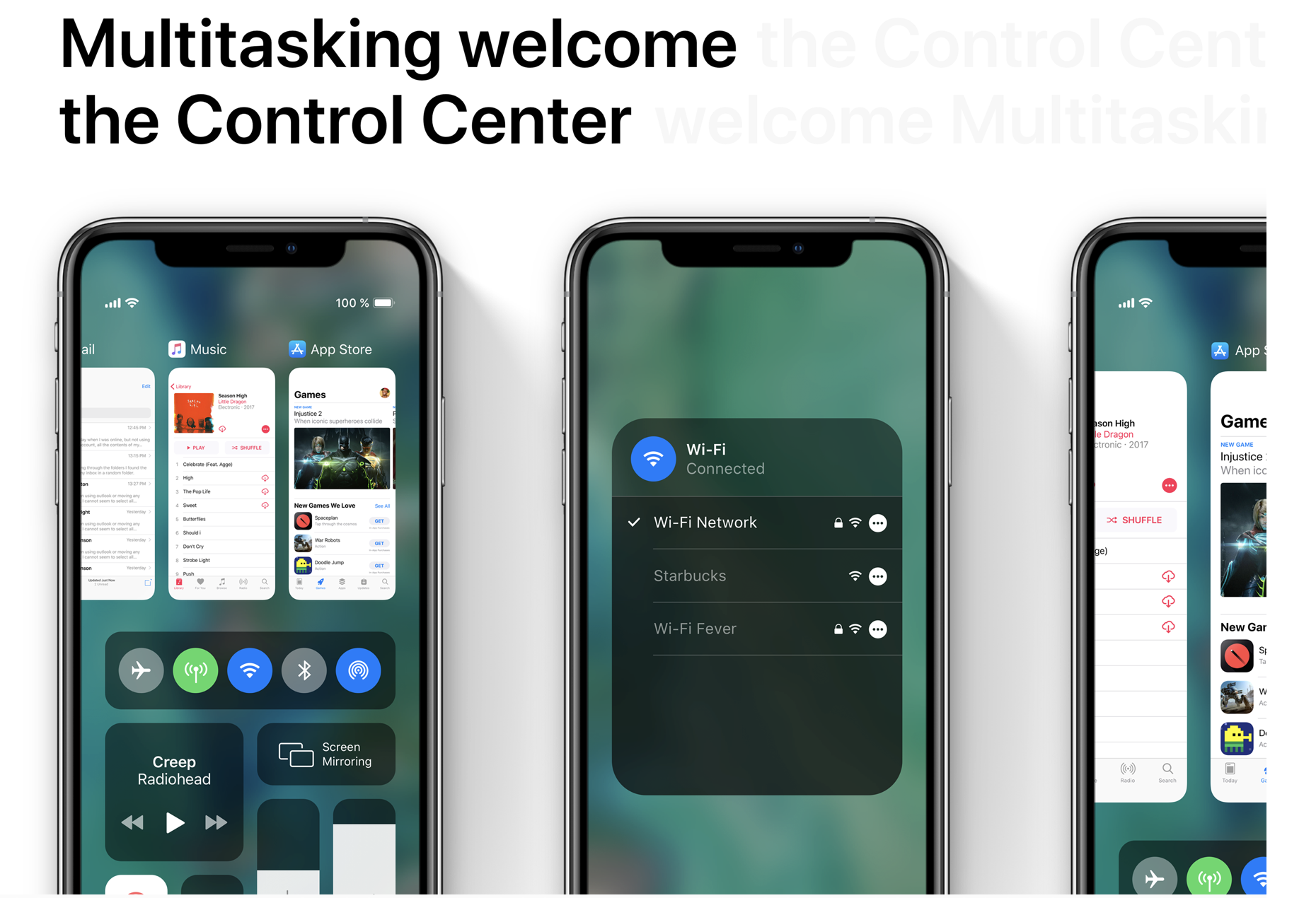 iOS 13 multitasker Control Center merge