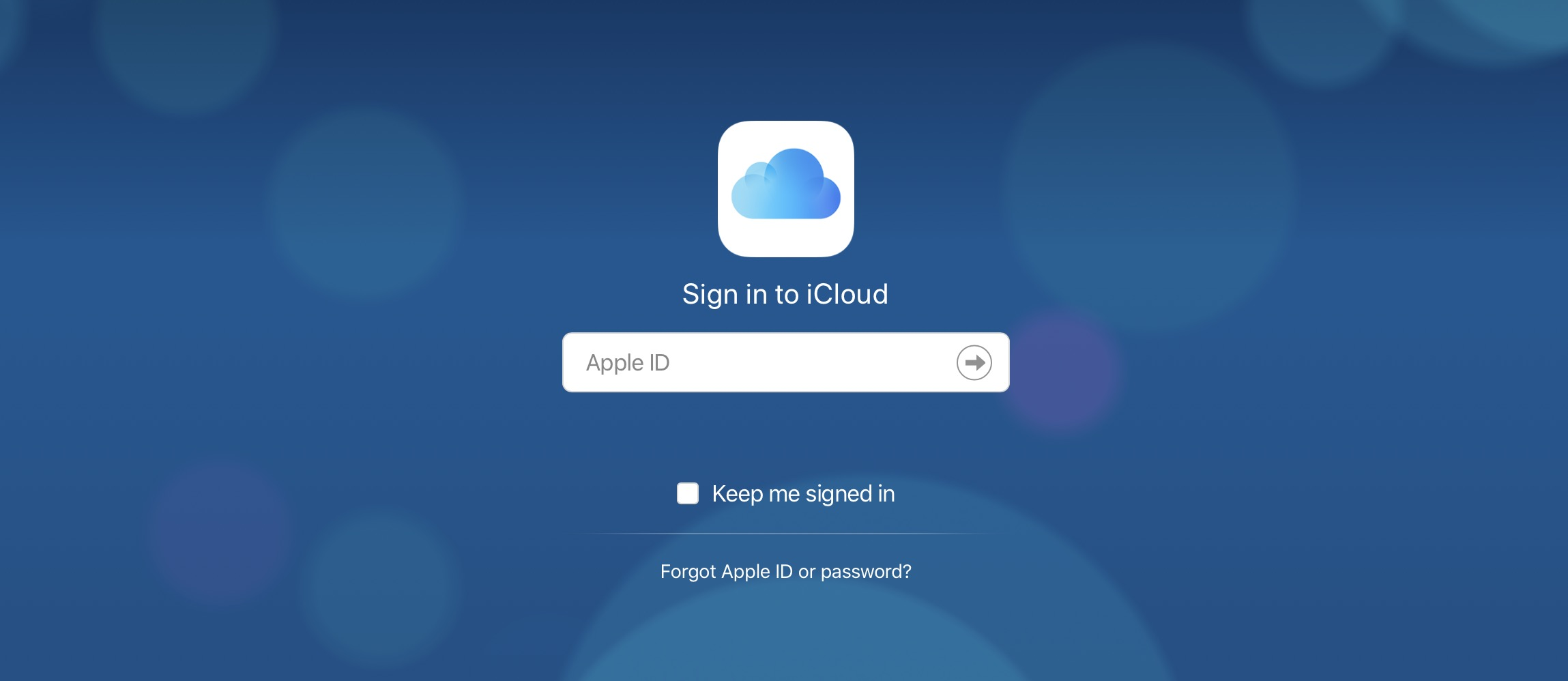 how to access iCloud on the web