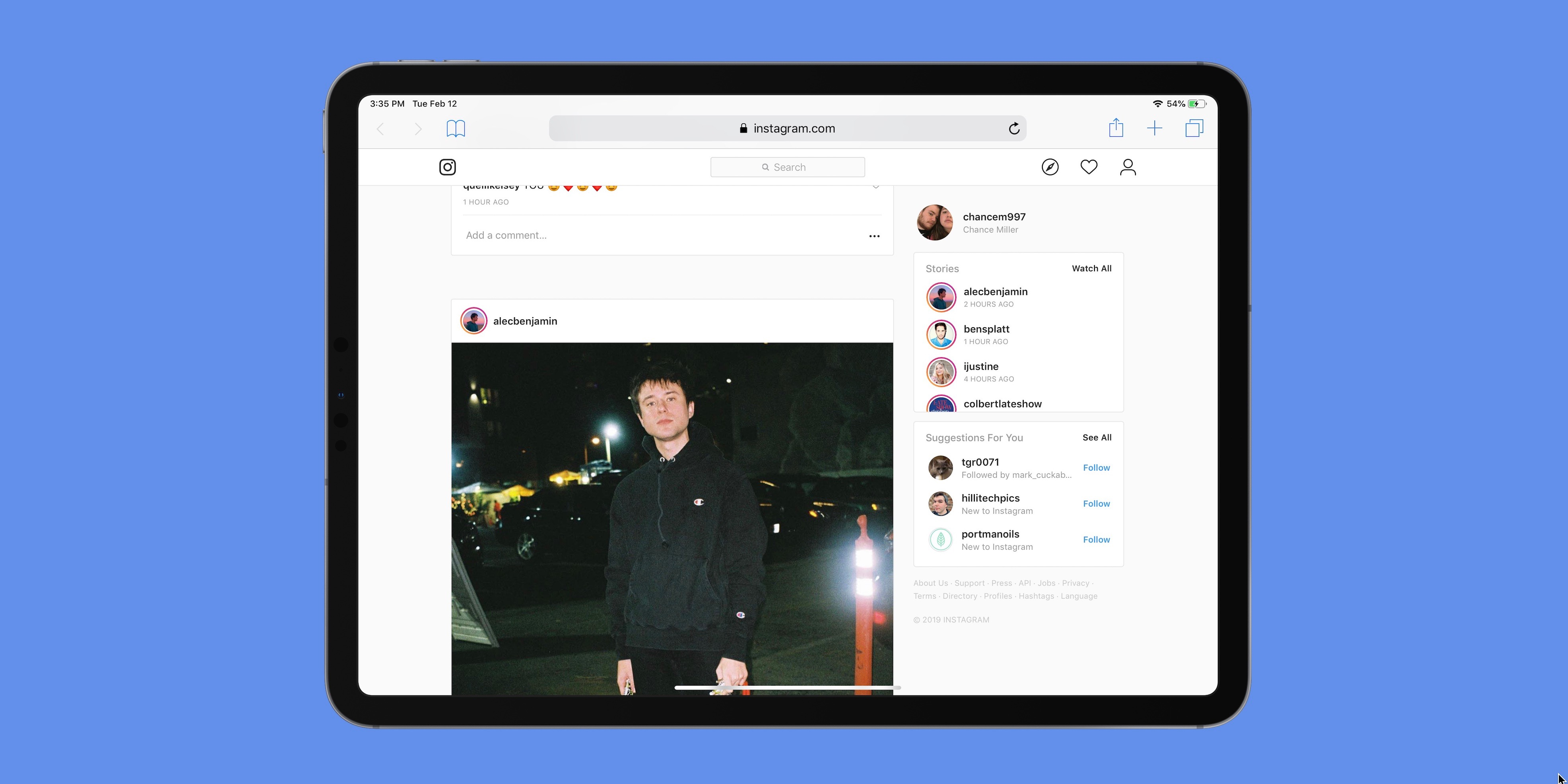 Instagram testing support for Direct messages on the web, including on iPad