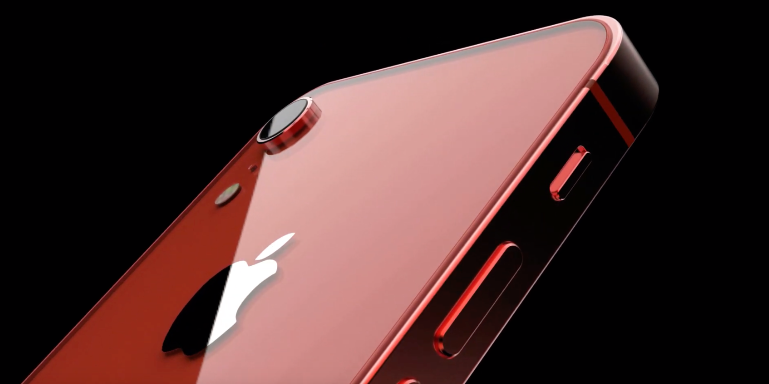 iPhone SE 2 featuring notch and full glass rear demonstrated