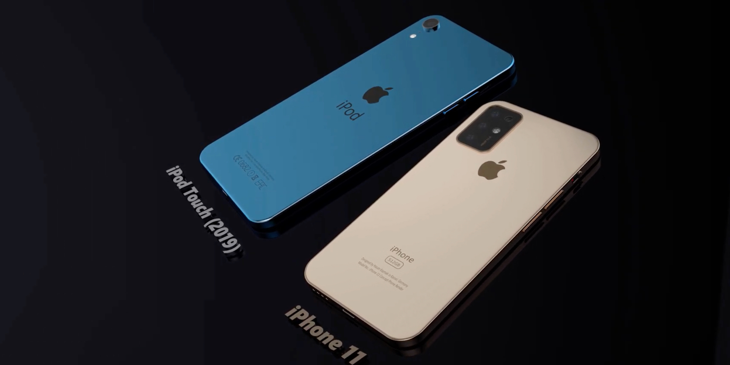 iPod touch concept video imagines the overhauled design Apple should deliver, but probably won't