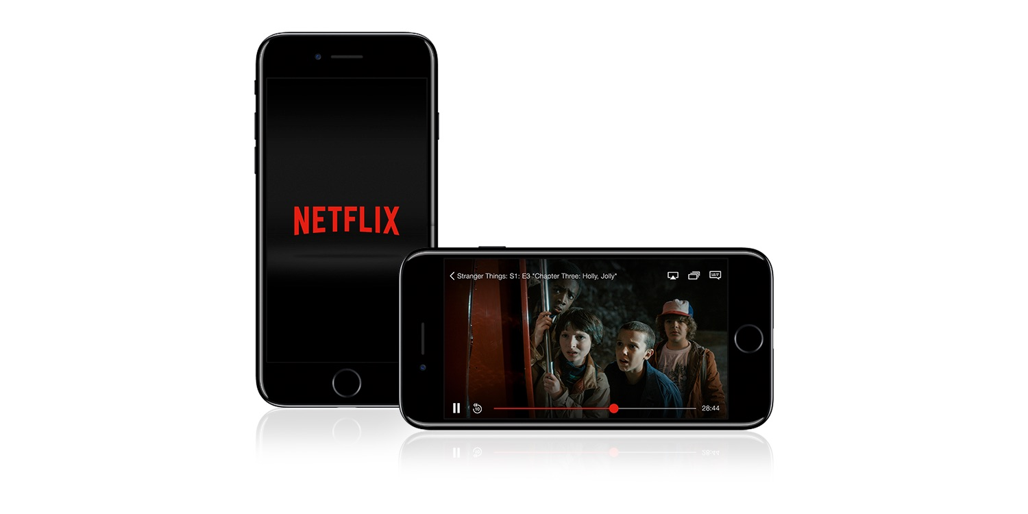Netflix for iOS drops support for ...