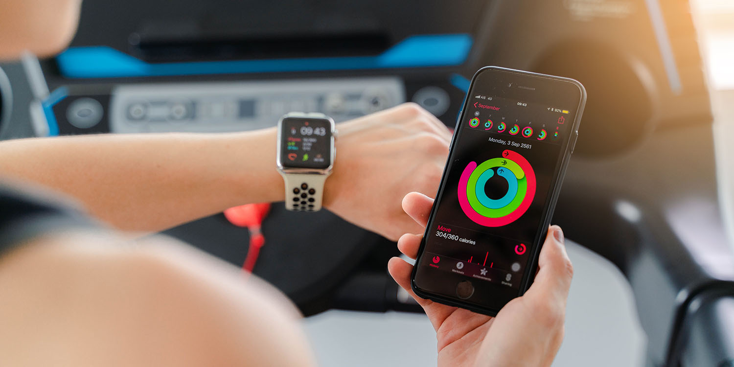 Using an Apple Watch to measure activity