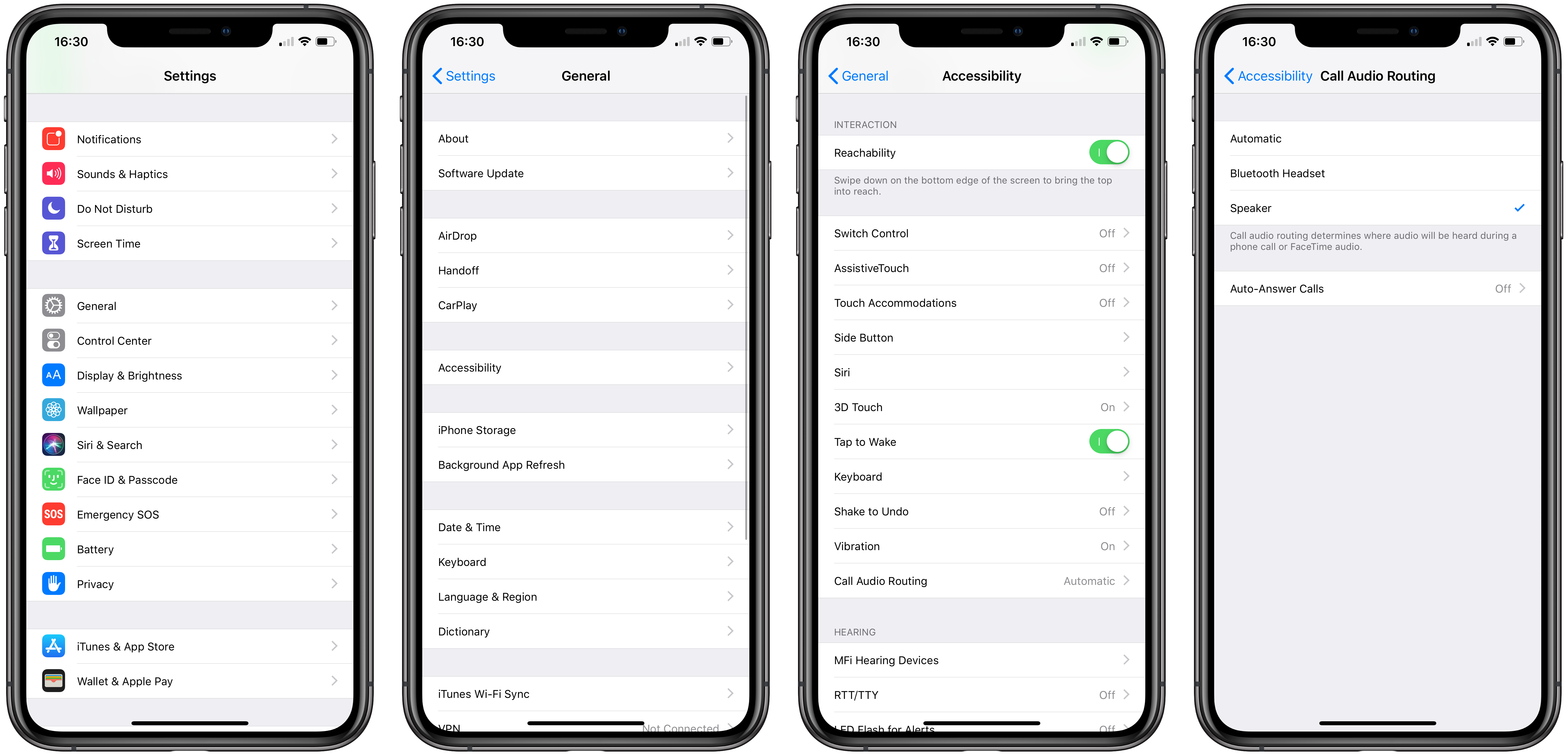 How to automatically speakerphone on iPhone when taking a call