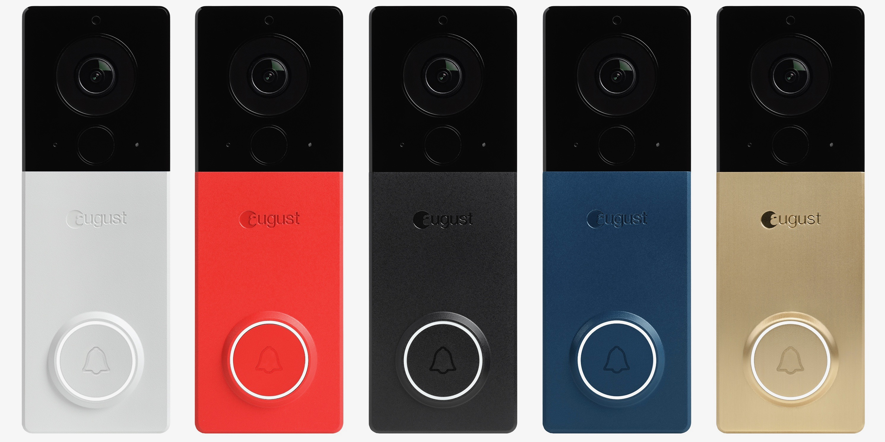 [Update: Now available for $230] August View wire-free video doorbell unveiled with swappable faceplates, rechargeable battery, more