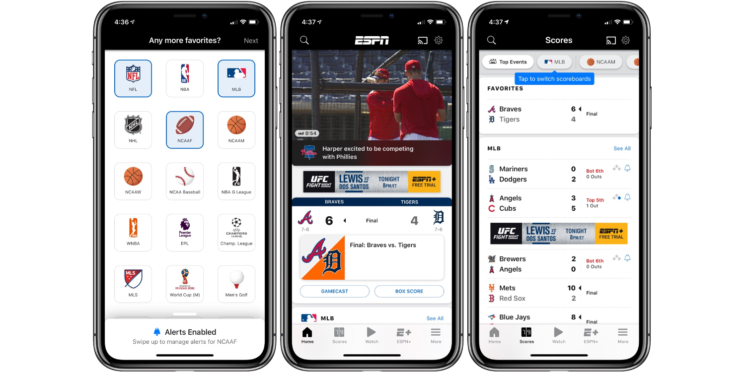 What's the best sports app for iPhone?