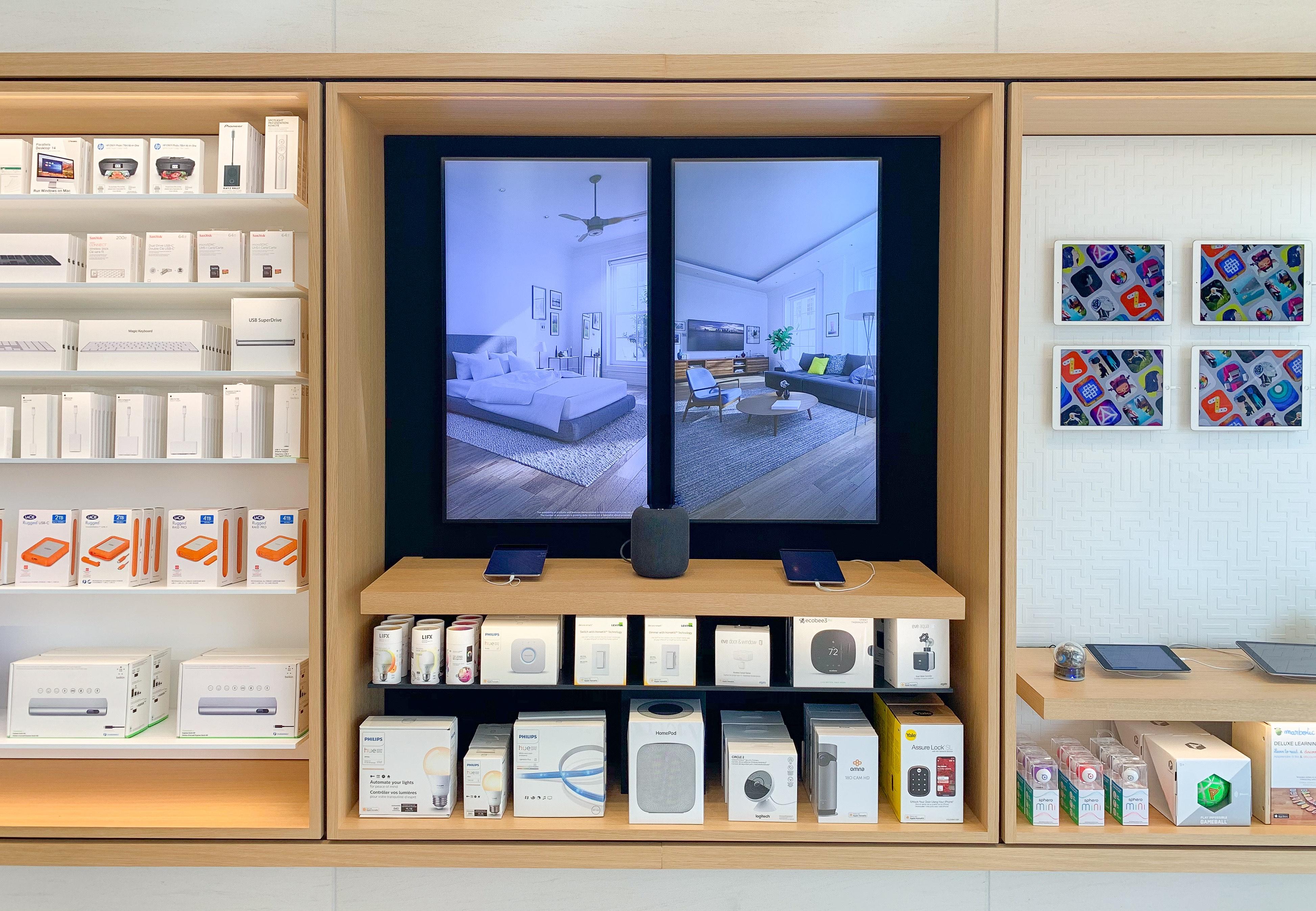 HomeKit Apple Store Display