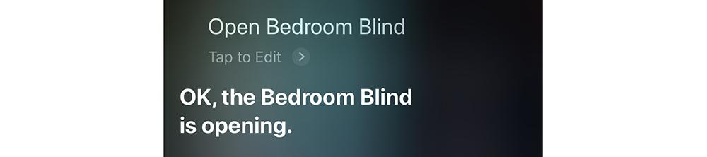 Siri control