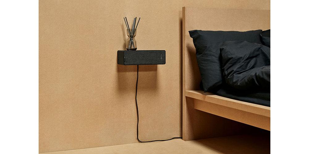 Wall-mounted Ikea-Sonos speaker
