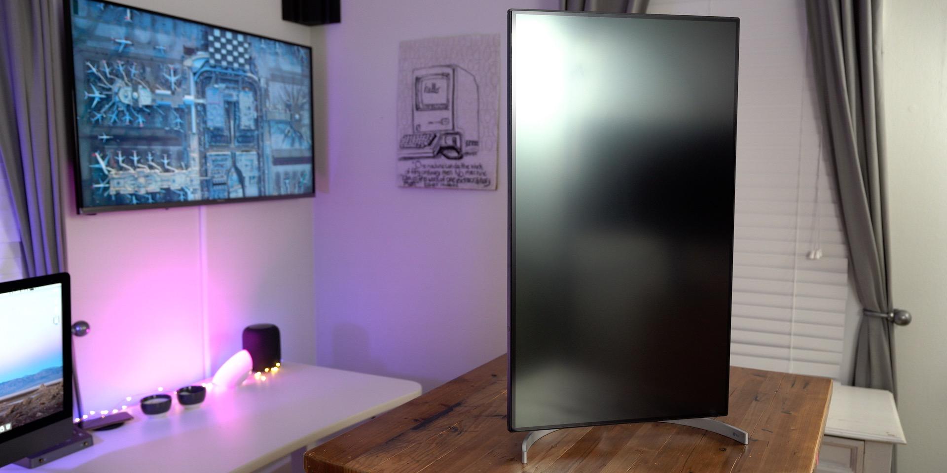 LG 32UL950 UltraFine 4K Display Review Vertical