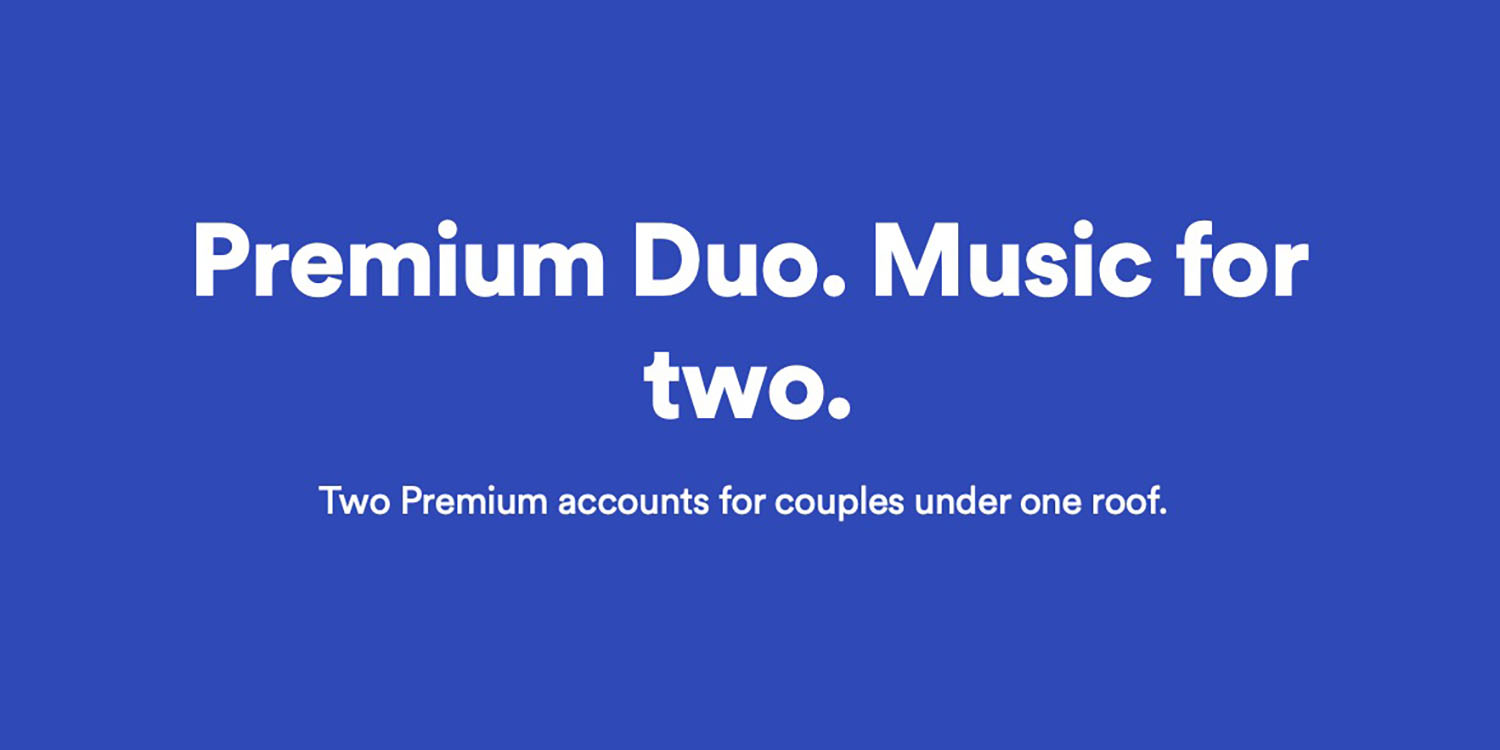 Spotify Premium Duo tests new pricing model for couples - 9to5Mac