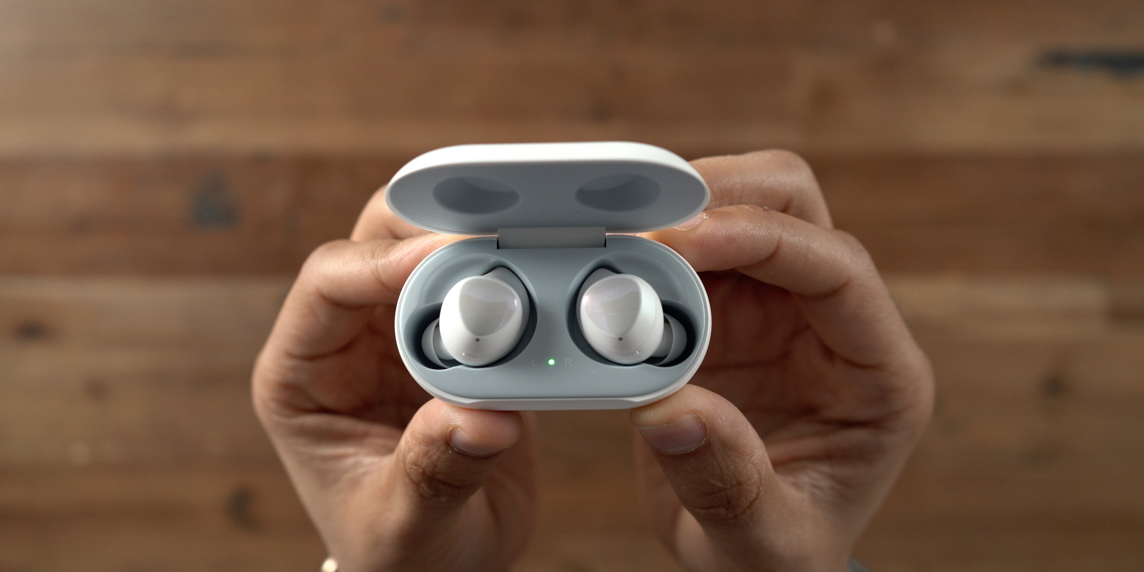 Samsung Galaxy Buds Charging Case Up Close
