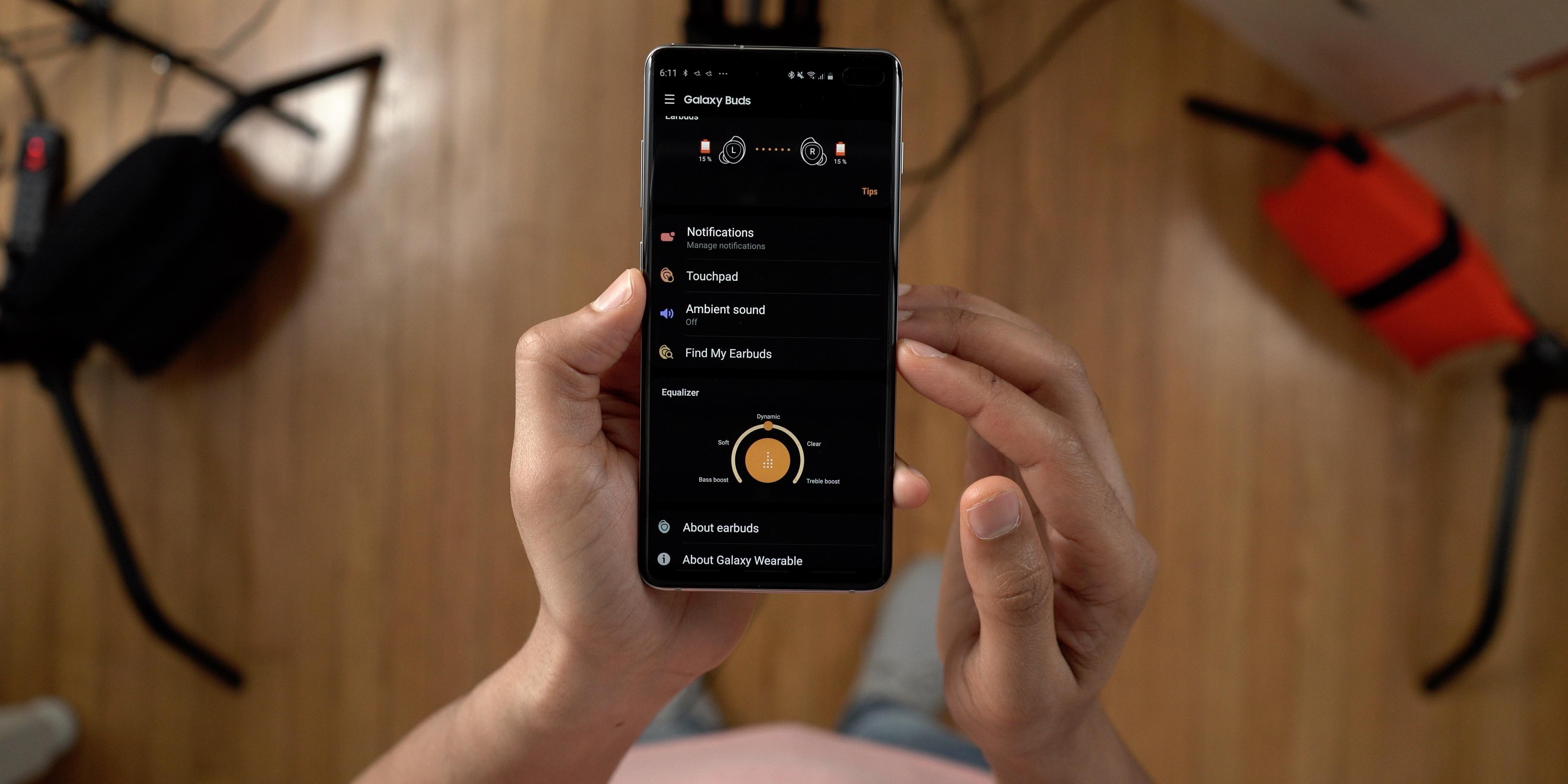 Galaxy Wearable App Galaxy Buds