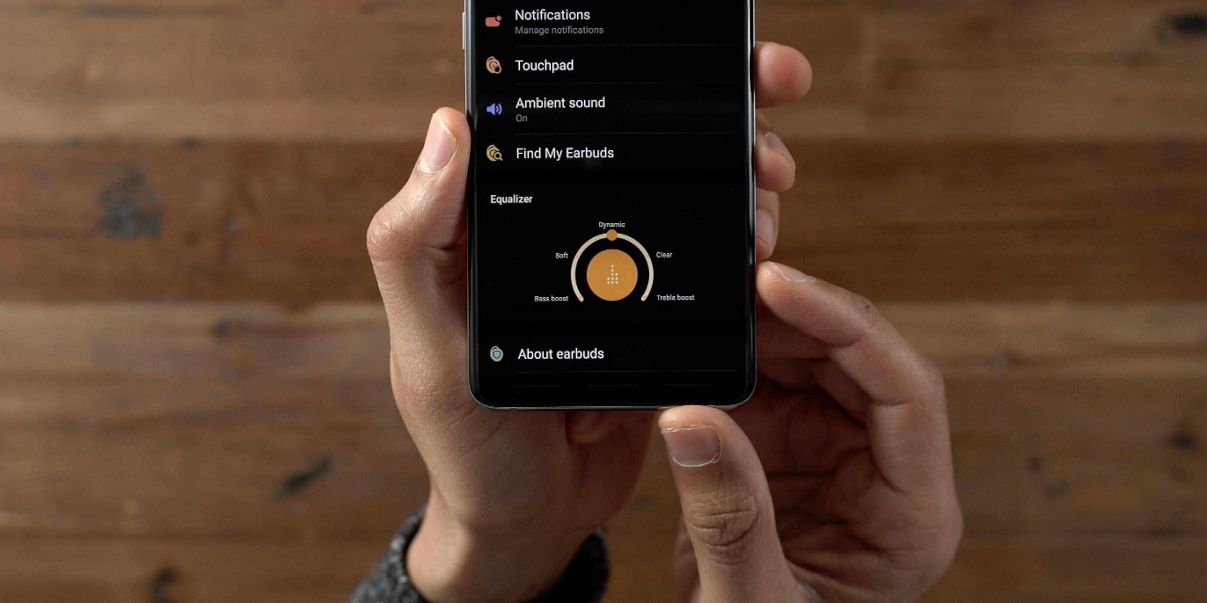 Samsung Galaxy Buds Galaxy Wearable EQ