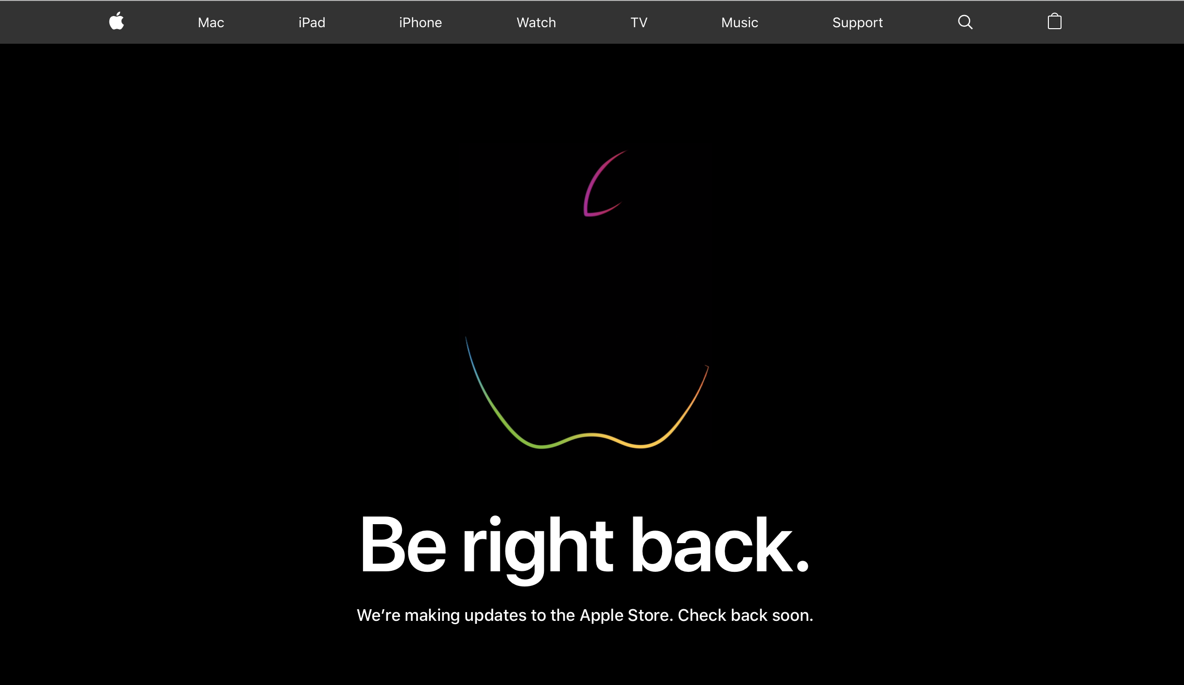 Update: New iPads!] Apple Store is down as iPad and iMac