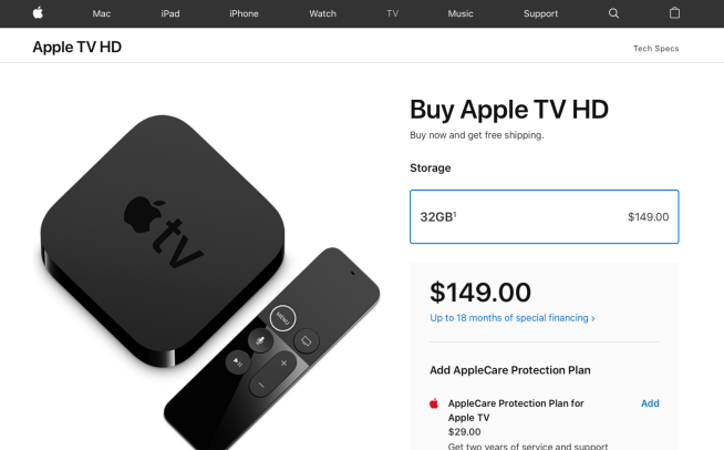 Apple rebrands 2015 Apple TV as 'Apple TV HD' as it introduces Apple TV+ streaming service