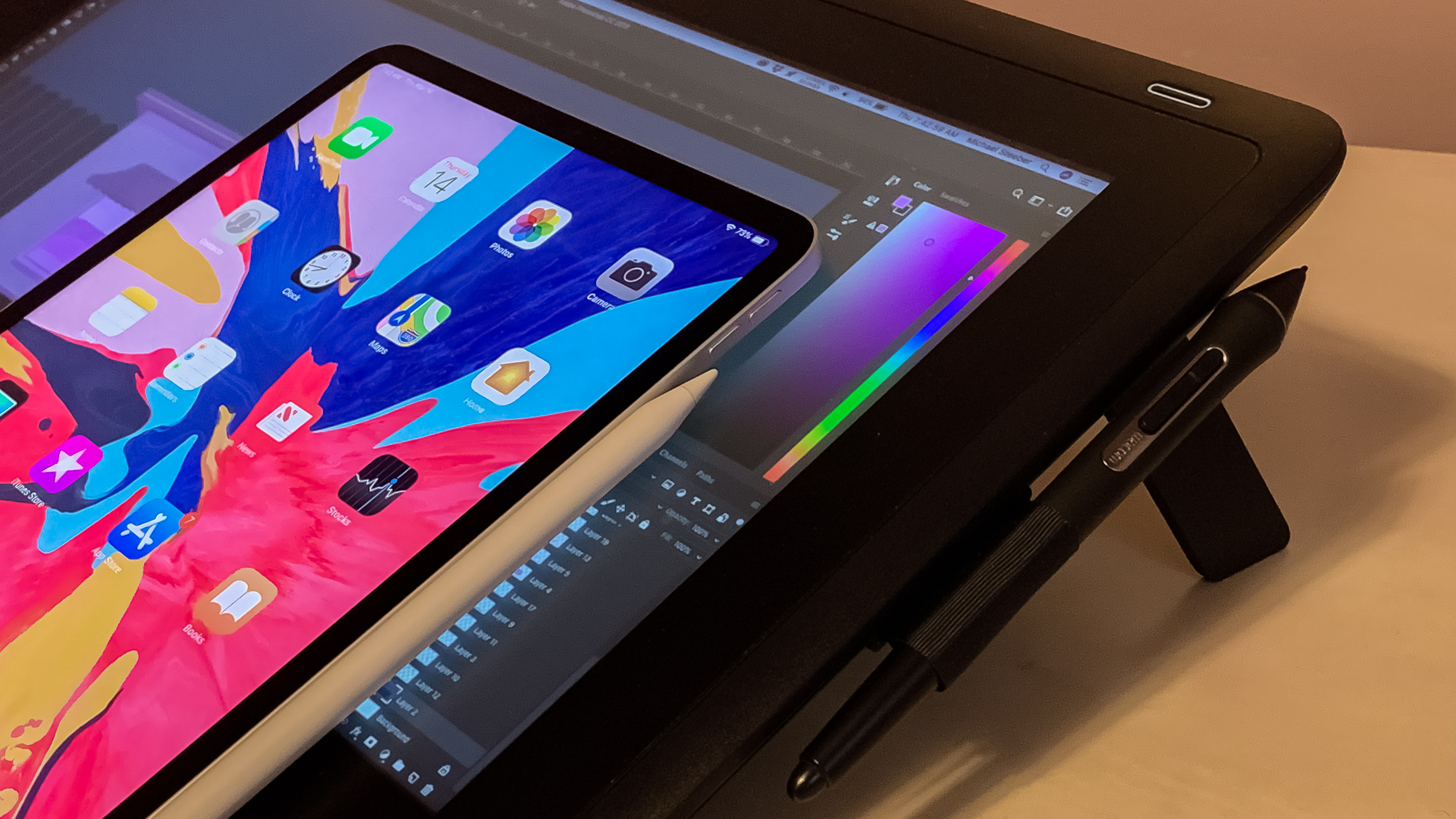 photo of Hands-on: Wacom's Cintiq 16 tablet from the perspective of an iPad Pro user image