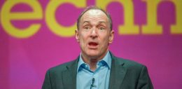 Tim Berners-Lee, inventor of the web