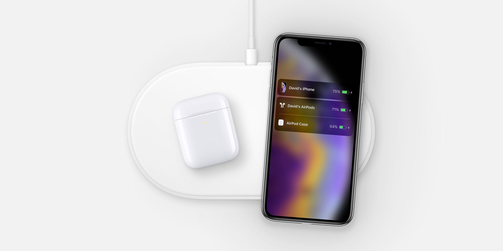 Hidden AirPower image with iPhone XS and new AirPods discovered on