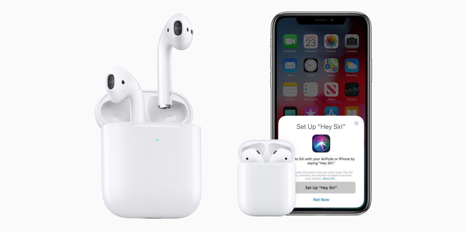the latest ebb0c ed501 New Apple AirPods now available: H1 chip, wireless charging case ...