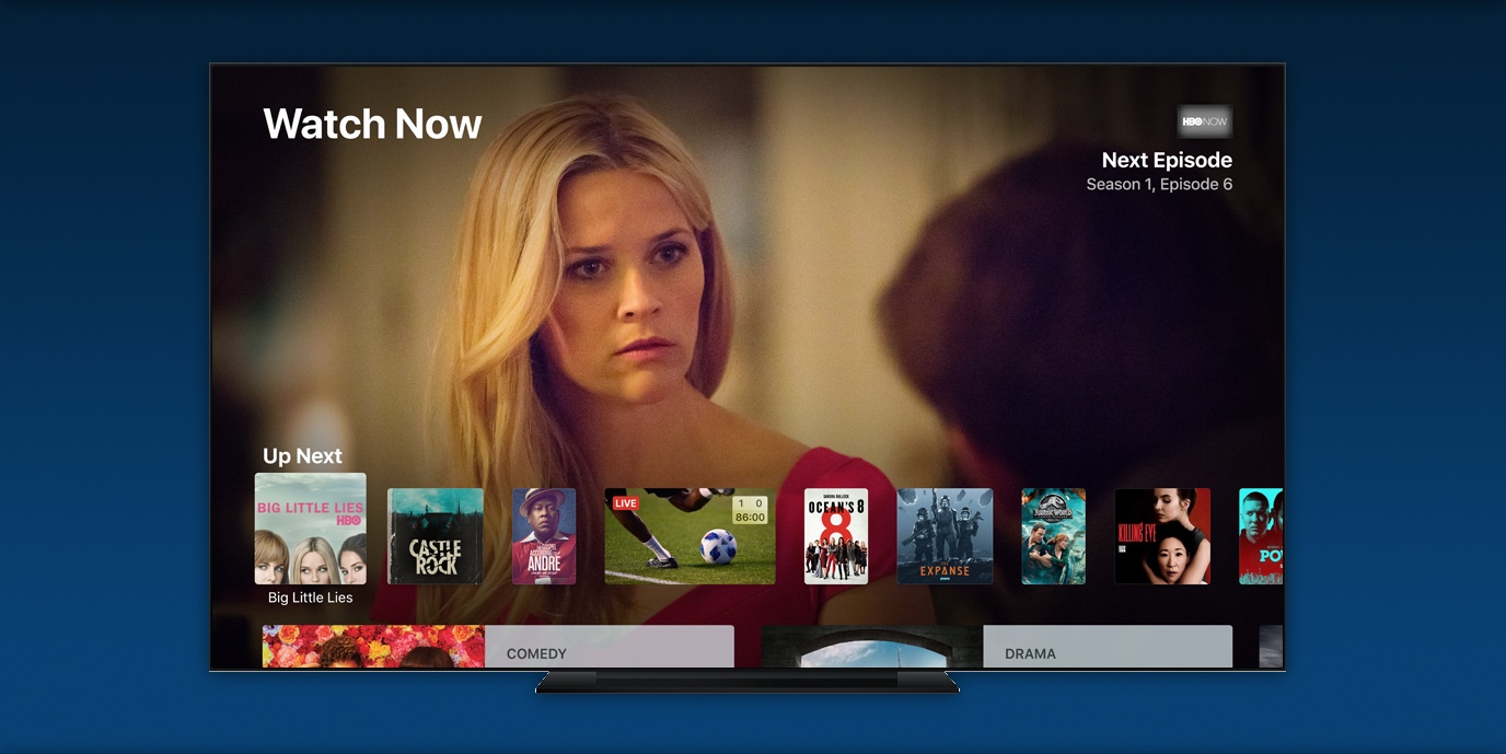 Bloomberg: Apple TV service to feature mostly content from