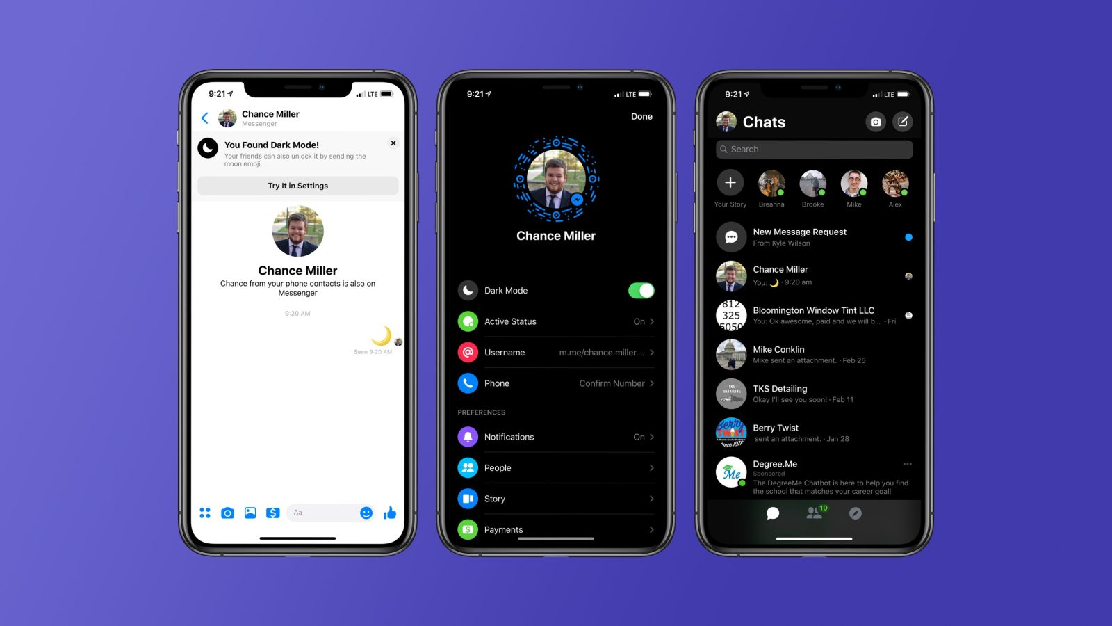 Facebook Messenger Dark Mode: How to enable hidden setting