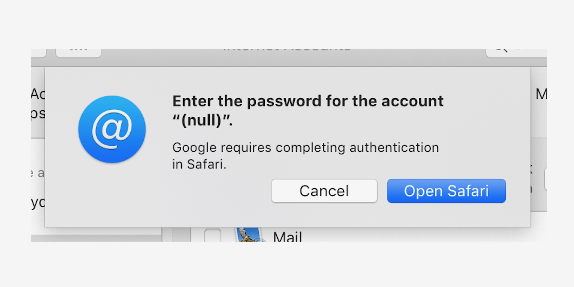 How to change google password in apple mail