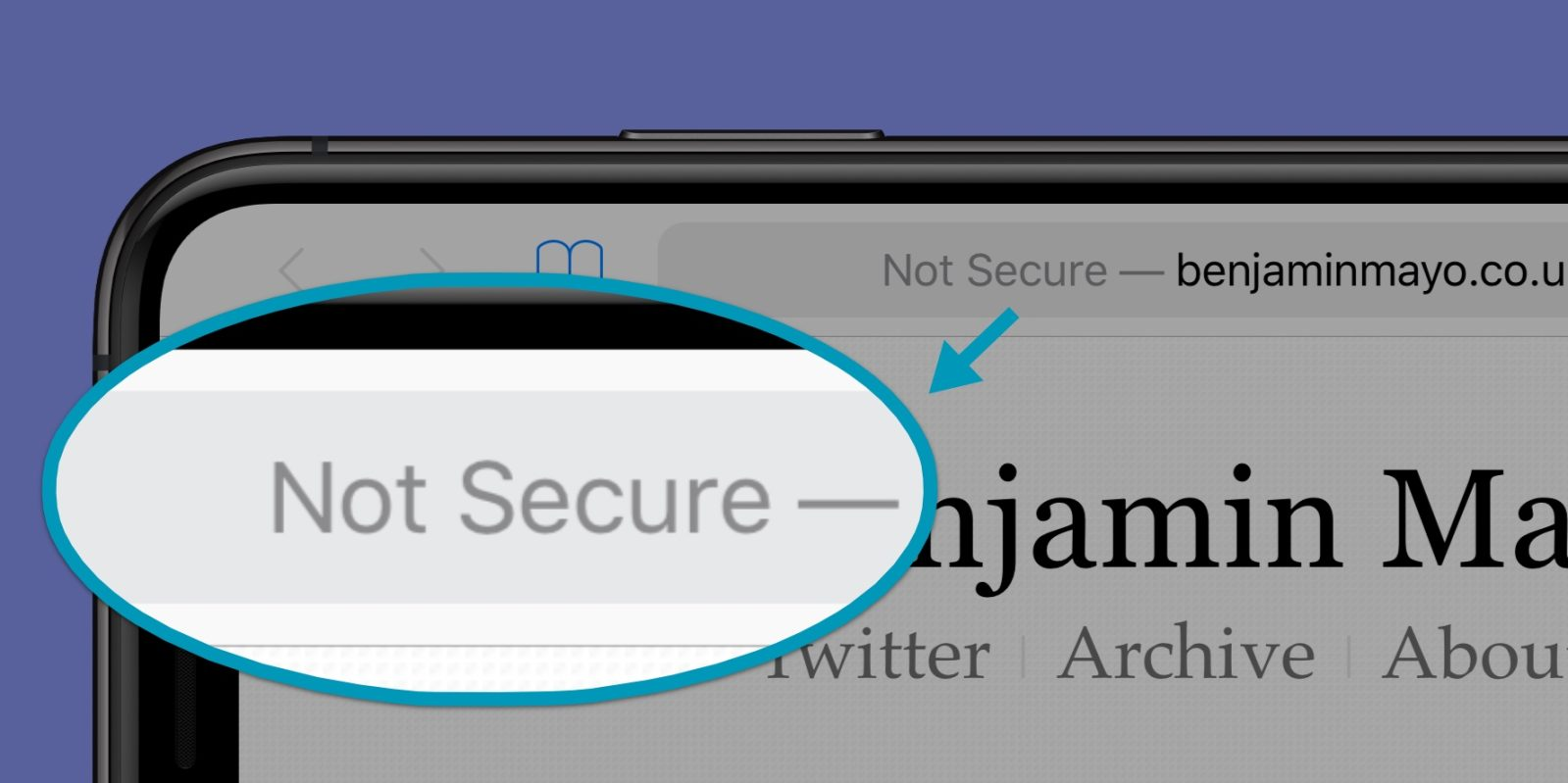 iPhone Not Secure: What does this message mean in Safari