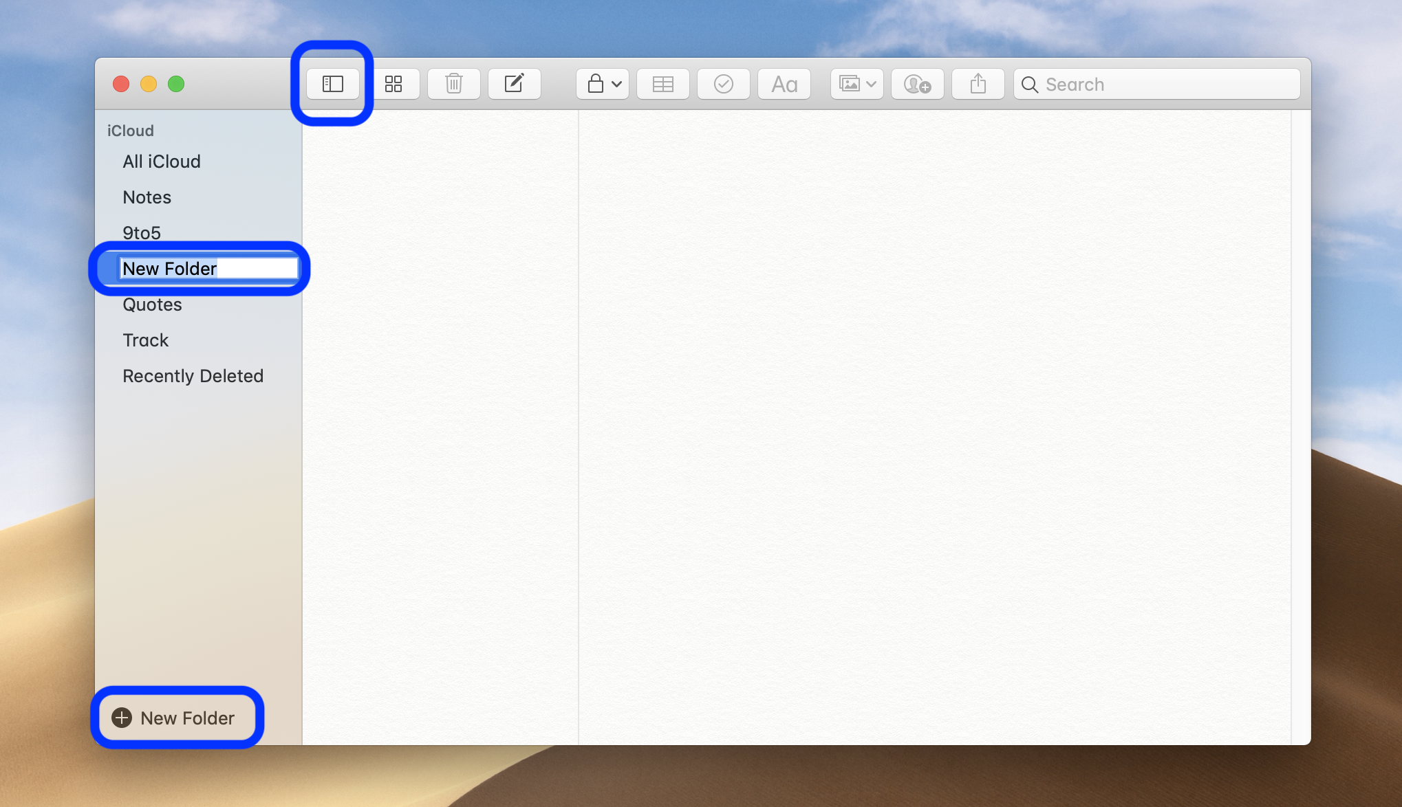 How To Make Folders For The Notes App On Iphone Ipad And Mac 9to5mac