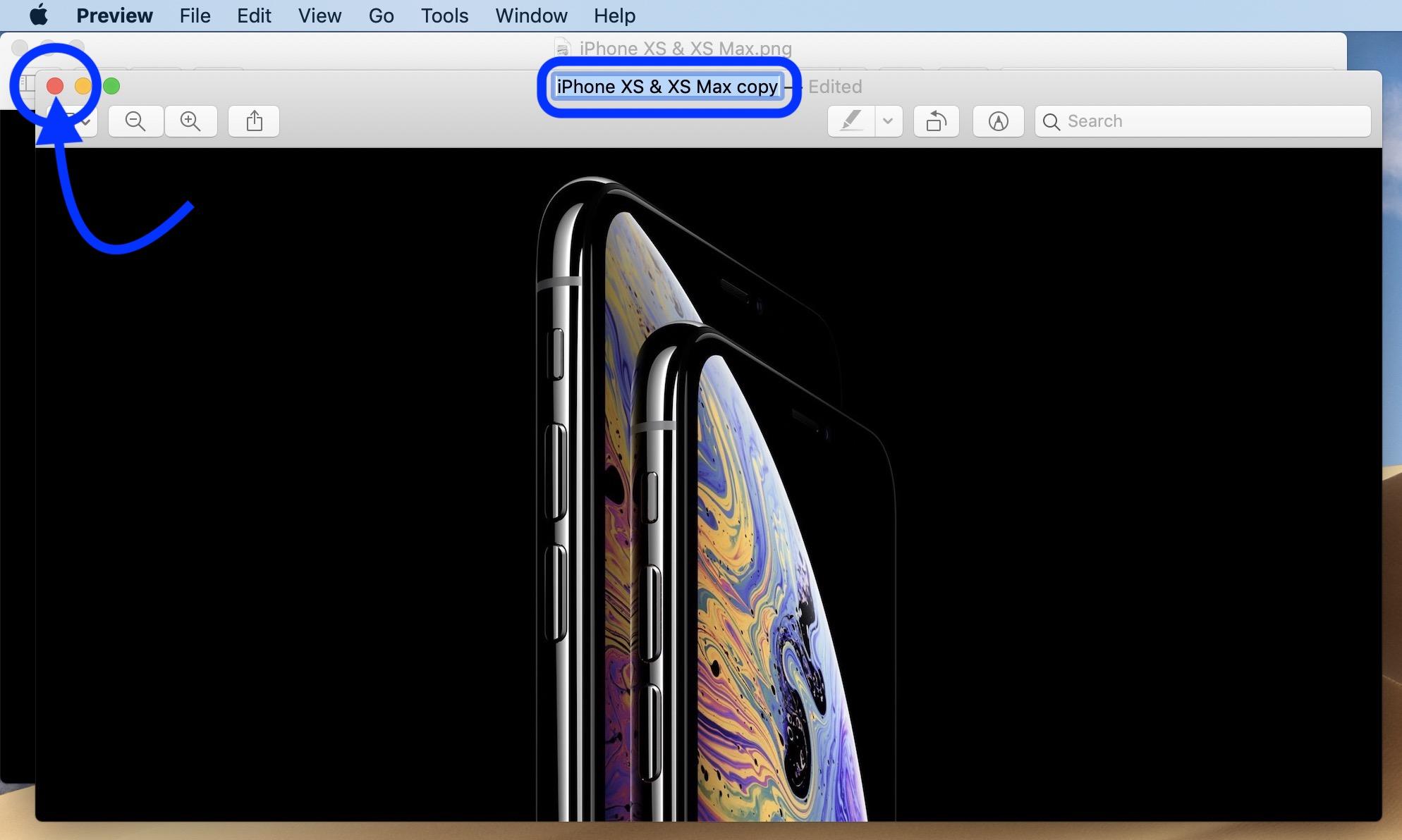 save png tiff as jpg Mac walkthrough 2