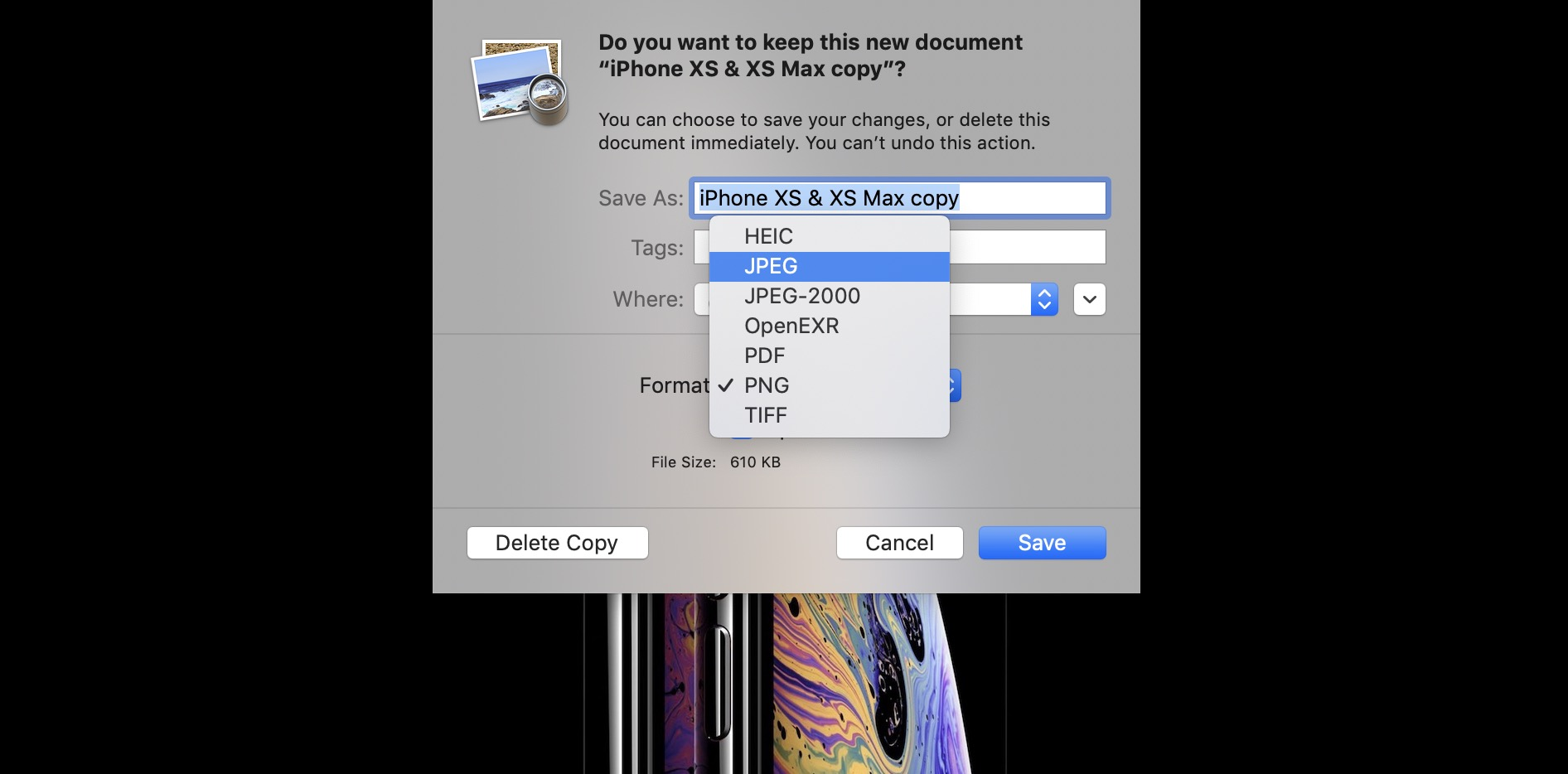 How to convert PNG and TIFF images to JPG on Mac - 9to5Mac