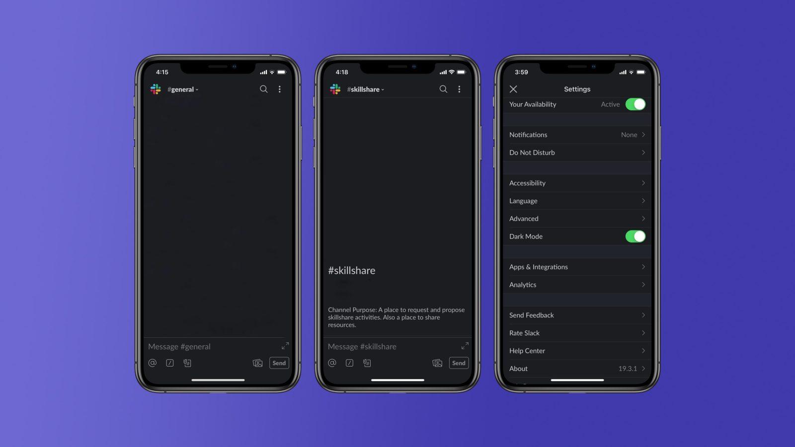 Slack begins testing long-awaited Dark Mode interface on iOS - 9to5Mac