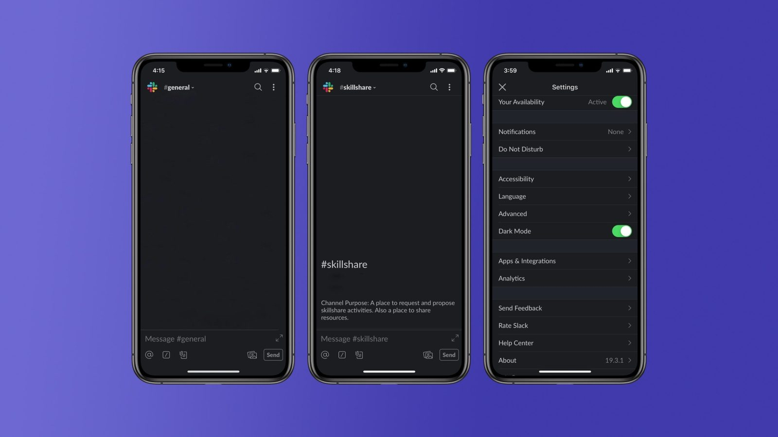 Slack Releases Dark Mode Update for iOS and Android, 'coming Later' to Desktop