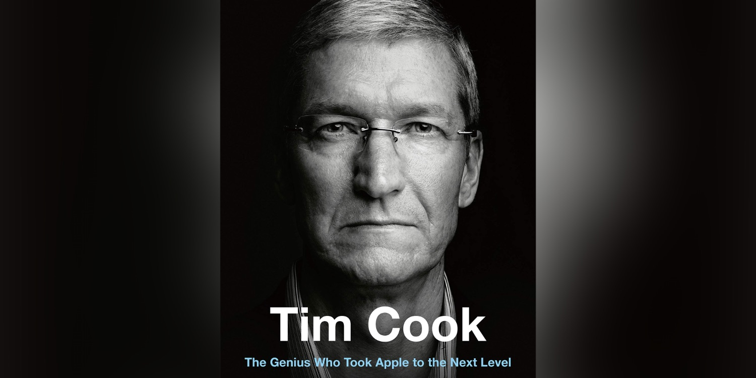[UPDATE: Giveaway!] 'Jony Ive: Genius' author releasing Tim Cook biography based on 'access with Apple insiders'