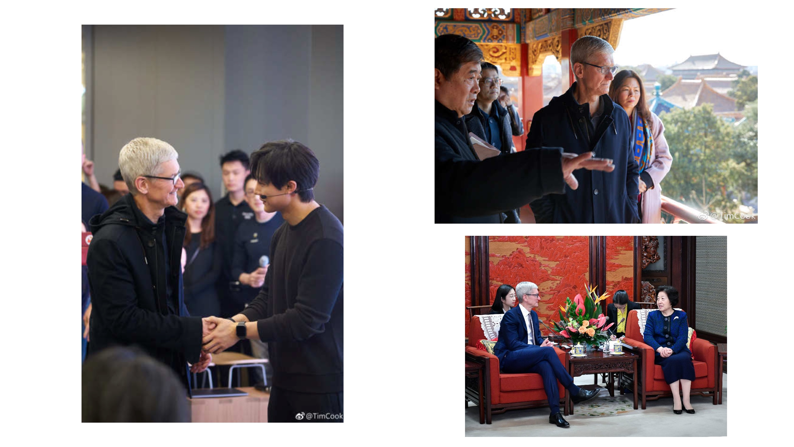 Tim Cook meeting developers in China ahead of 2019 Development Forum
