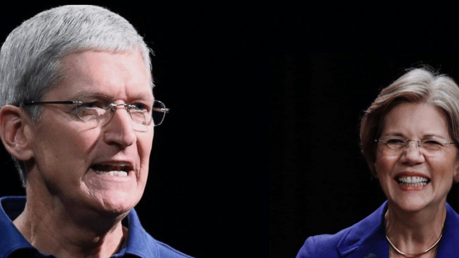US senator Elizabeth Warren elaborates on her plan to break up Apple because of the App Store