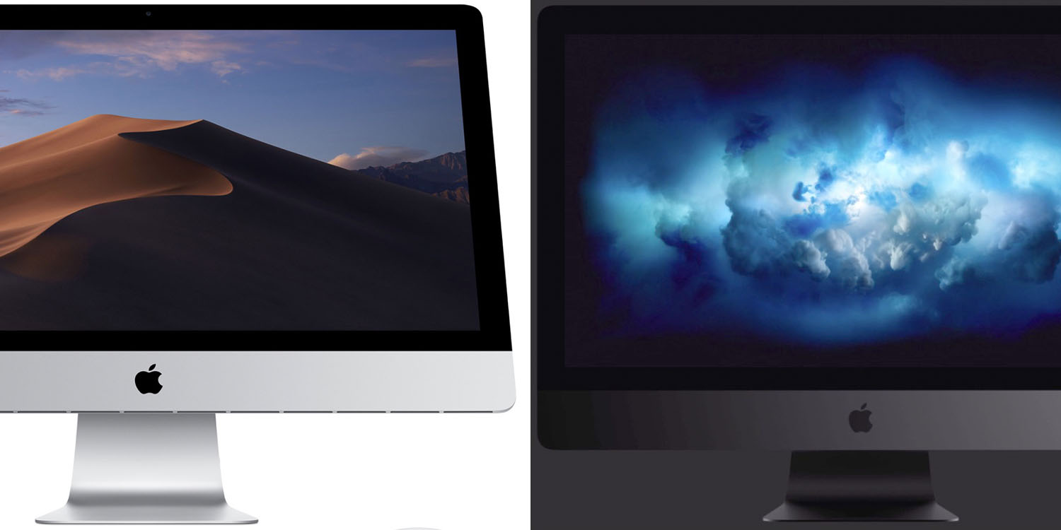 2019 iMac versus iMac Pro is not an easy choice, show two comparisons