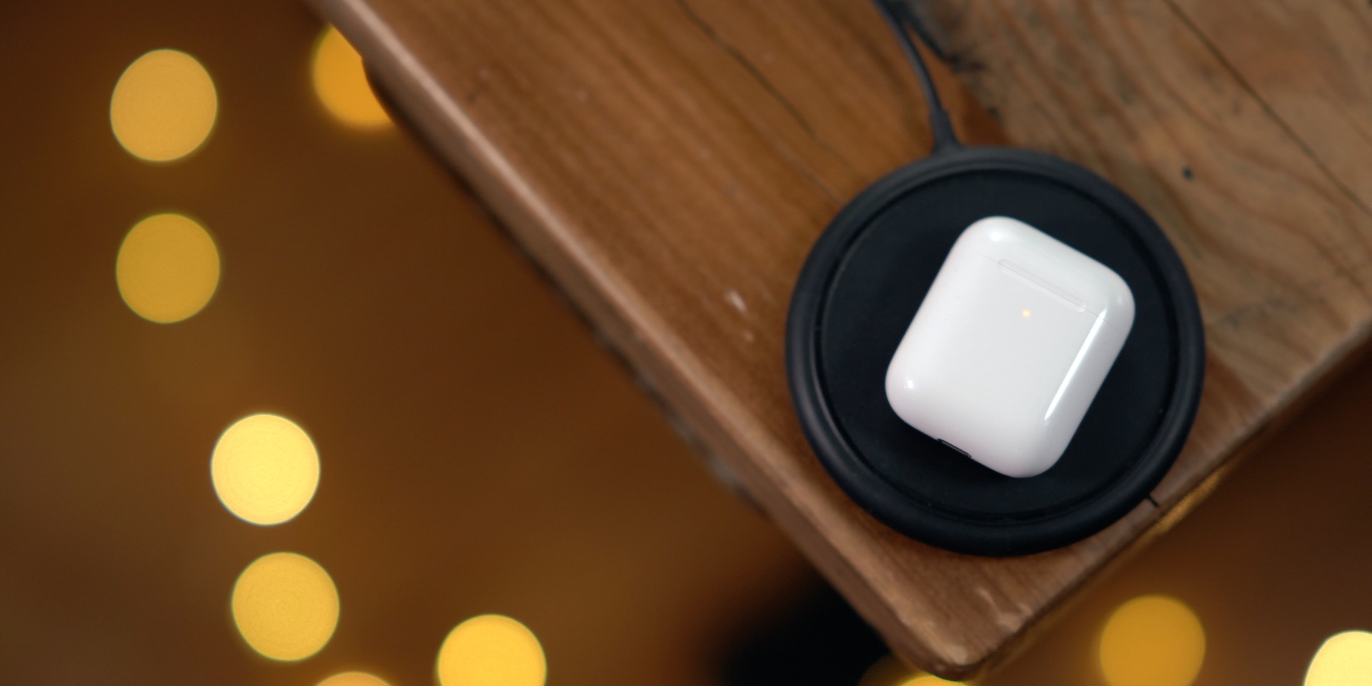 AirPods on Mophie Charger