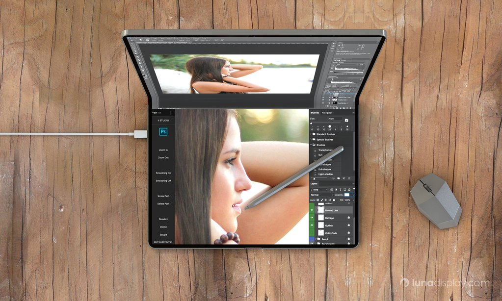 foldable Mac/iPad concept