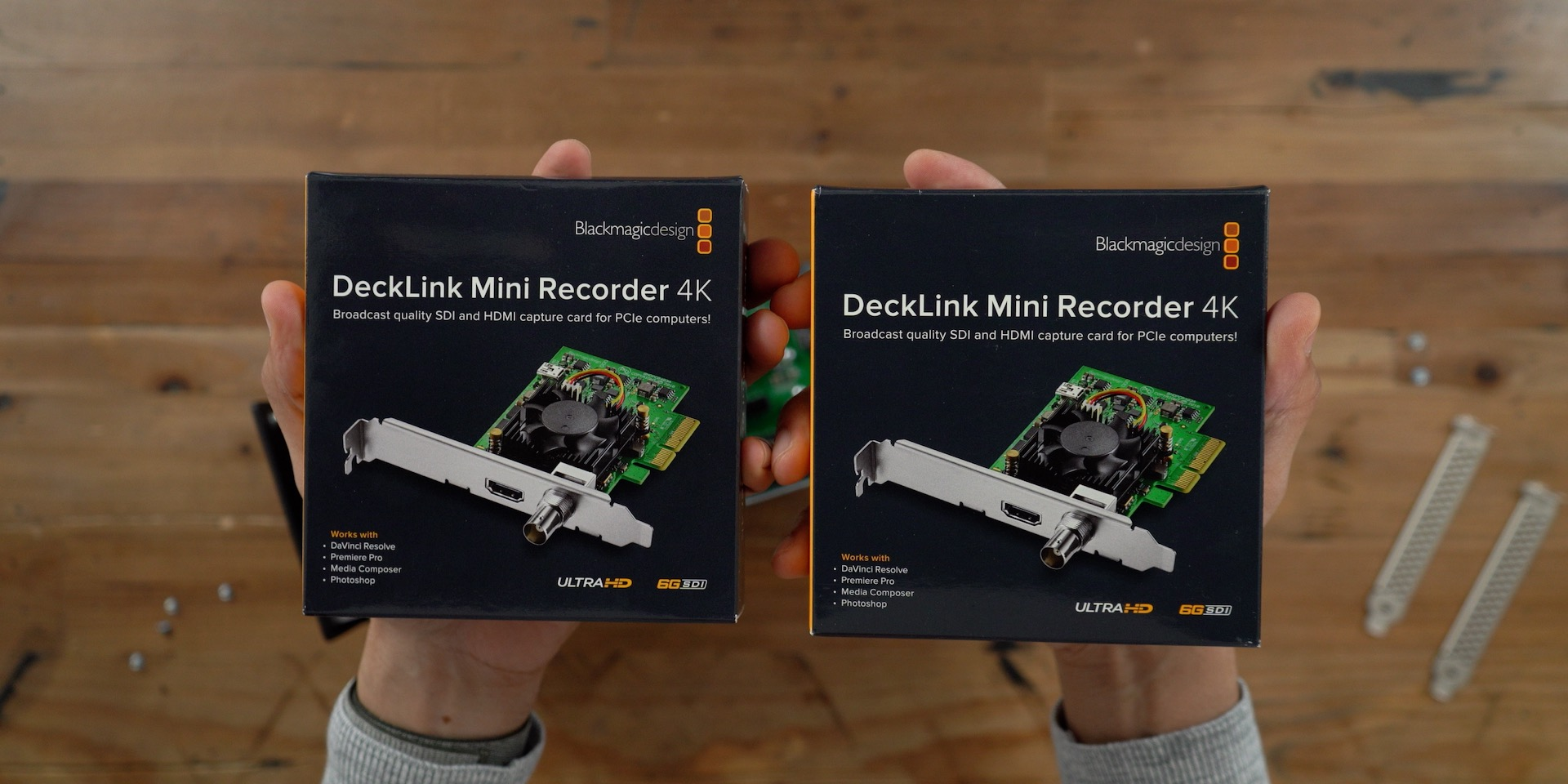 Blackmagic DeckLink Mini Recorder 4K Boxes