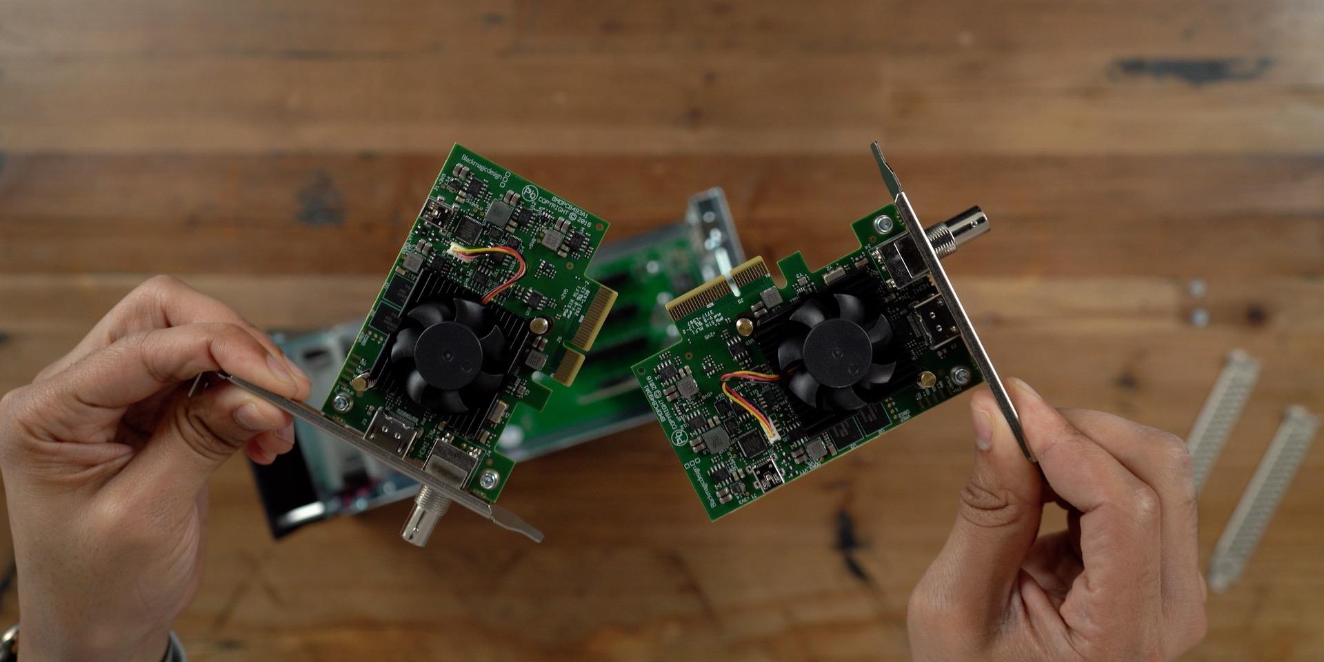 Blackmagic DeckLink Mini Recorder 4K PCIe Expansion Cards