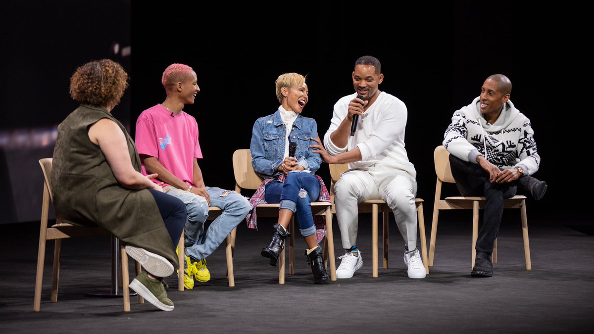 Apple holds environment-focused event at Apple Park with Jaden, Will, and Jada Smith