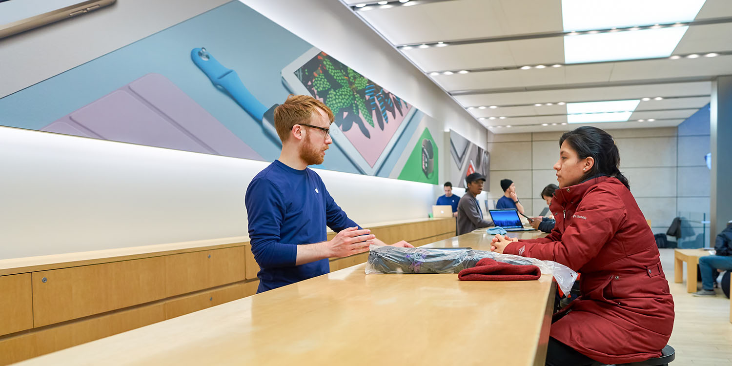 Apple Store app could show your approximate wait time