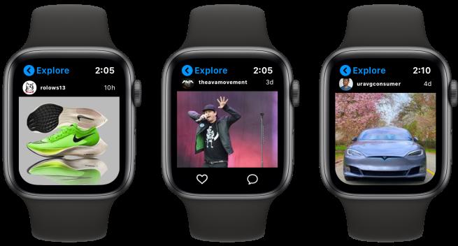 Lens Instagram Apple Watch