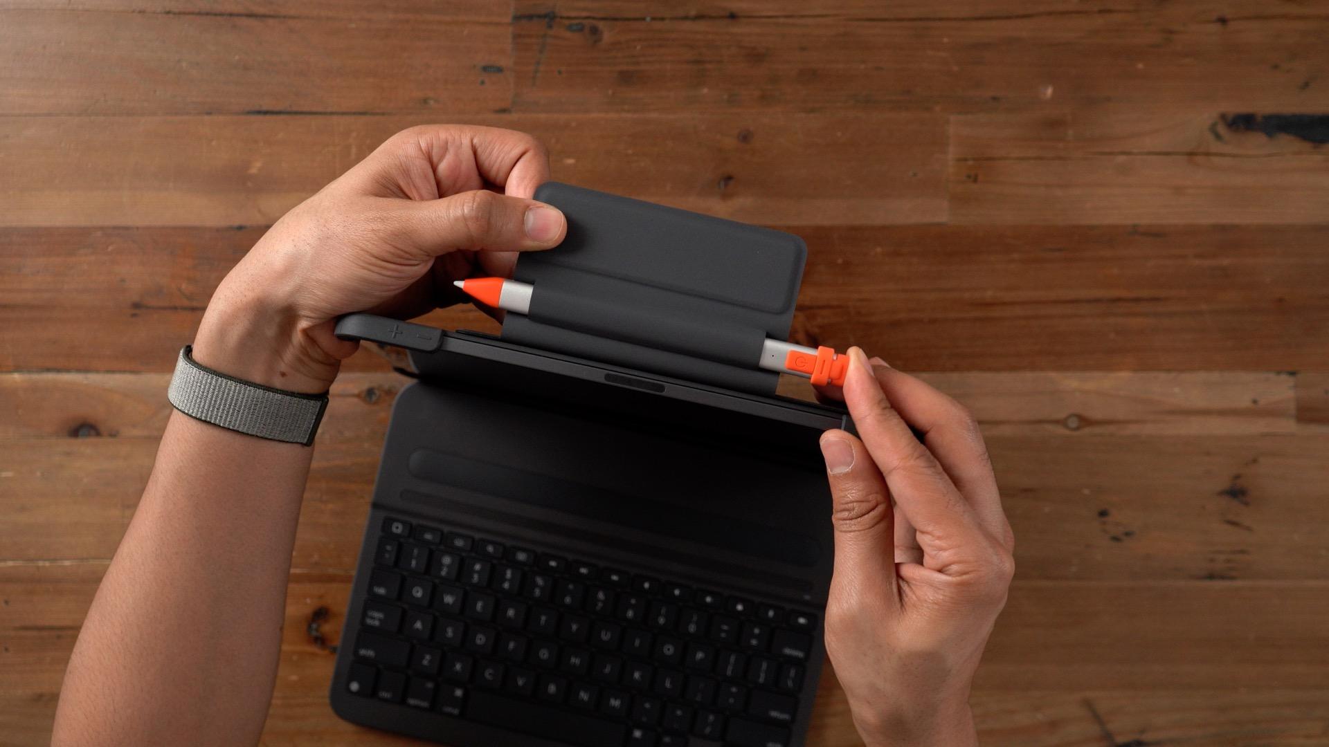 Logitech Slim Folio Pro Logitech Crayon