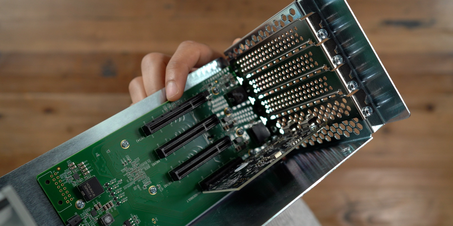 Sonnet Echo Express SEIII PCIe Slots