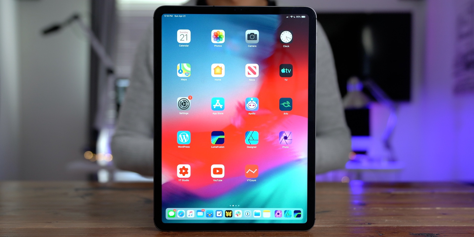 Which iPad Should You Buy? iPad Pro 2018 front