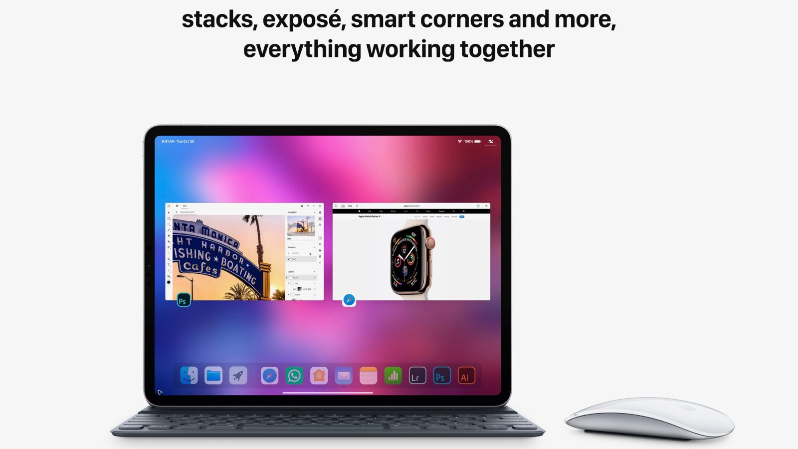iOS 13 Concept Imagines Mouse Support, Enhanced Multitasking, More for iPad [Gallery]