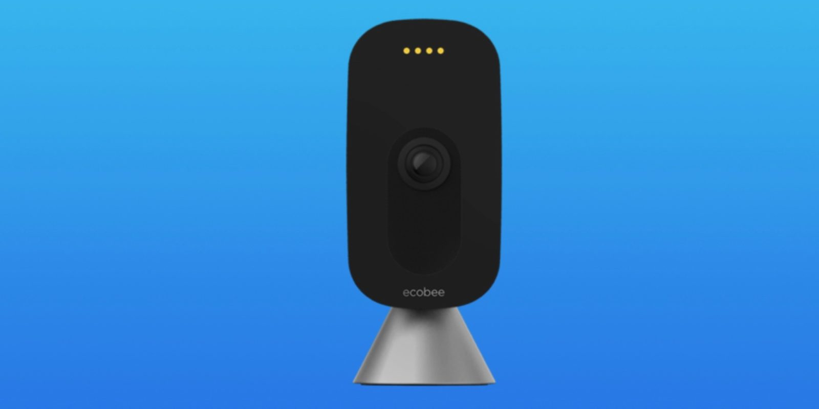 [Update: First look] Ecobee camera leaks with clean black and silver design, likely to include voice control