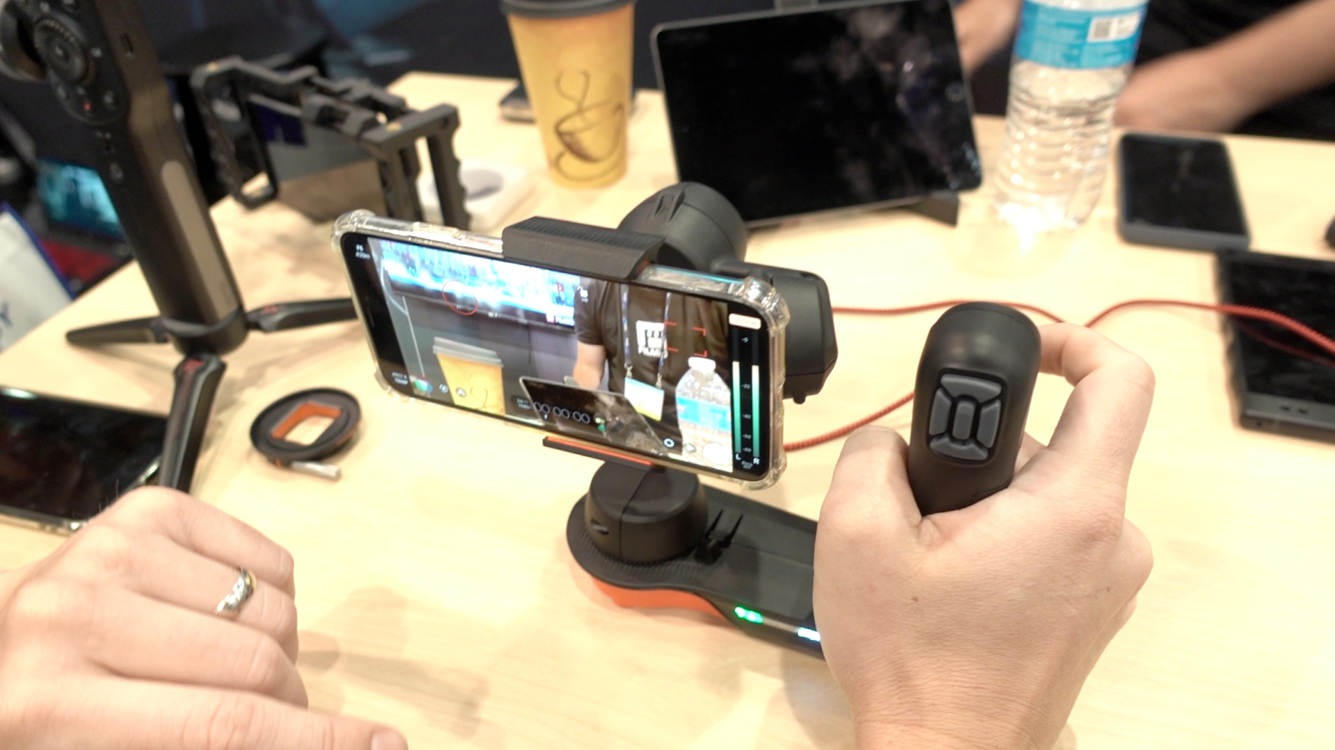 Movi gimbal Filmic Pro integration
